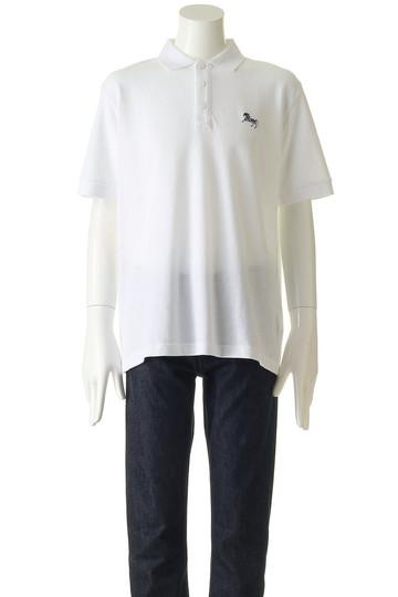 ホワイトマウンテニアリング/White Mountaineeringの【MEN】ホース刺繍ポロシャツ(ホワイト/WM1871524)