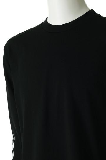 ホワイトマウンテニアリング/White Mountaineeringの【MEN】ロゴプリントスリーブスウェットシャツ(ブラック/WM1873514)