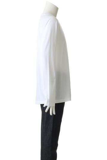 ホワイトマウンテニアリング/White Mountaineeringの【MEN】【wardrobe】クルーネックラグランロングスリーブTシャツ(ホワイト/WR1873502)