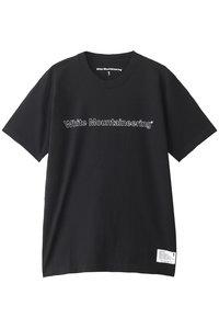 20%OFF!<ELLE SHOP>メンズ(MENS)ロゴプリントTシャツ ブラック画像