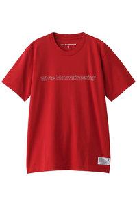 20%OFF!<ELLE SHOP>メンズ(MENS)ロゴプリントTシャツ レッド画像