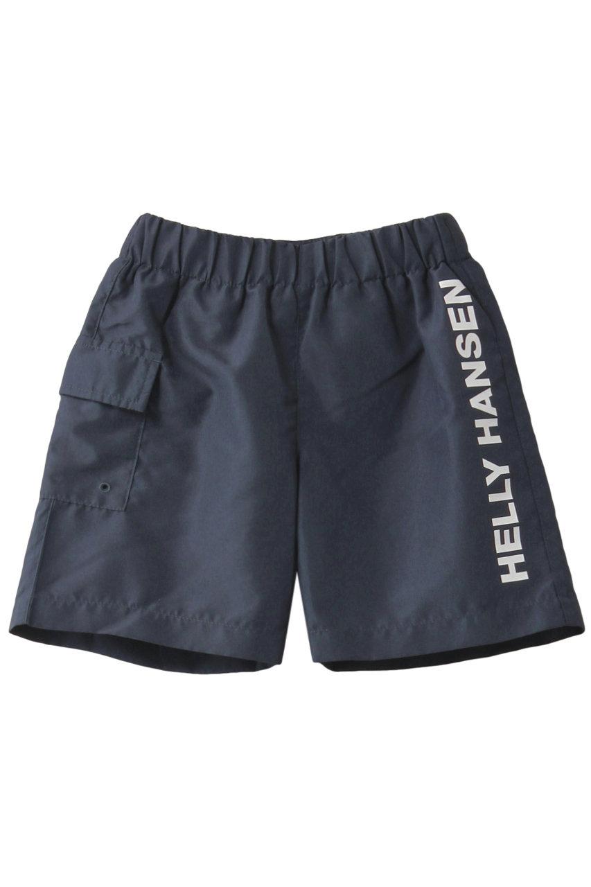 ヘリーハンセン/HELLY HANSENの【KIDS】ロゴビーチショートパンツ(ヘリーブルー/HJ72000)