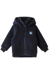<ELLE SHOP> HELLY HANSEN ヘリーハンセン 【KIDS】ファイバーパイルジャケット ネイビー画像