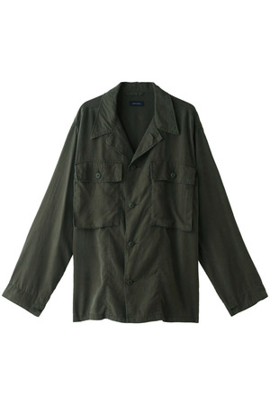 【MEN】テンセルファティーグシャツ アメリカンラグ シー/AMERICAN RAG CIE