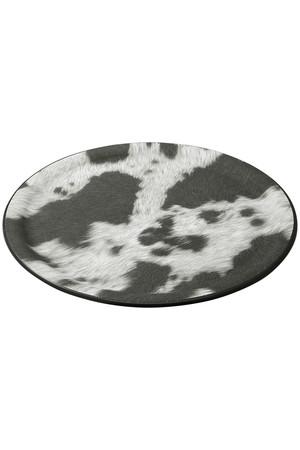 【PLATEX】COW TRAY 36CM アメリカンラグ シー/AMERICAN RAG CIE