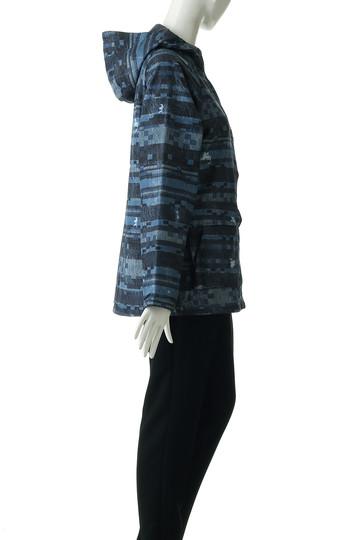 コロンビア/Columbiaのハーフバレイウィメンズパターンドジャケット(ネイビー/PL3065)