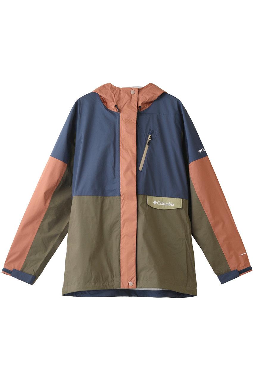 コロンビア/Columbiaのセカンドヒルウィメンズジャケット(ネイビーマルチ/PL0140)