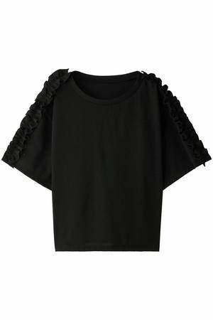 ギャザーフリルTシャツ ガリャルダガランテ/GALLARDAGALANTE