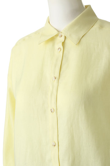 ガリャルダガランテ/GALLARDAGALANTEのリネンオーバーシャツ(ネイビー/71241497)