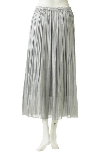 ガリャルダガランテ/GALLARDAGALANTEのシャイニープリーツスカート(シルバー/71197343)