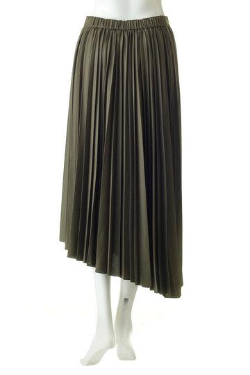 ガリャルダガランテ/GALLARDAGALANTEのイレギュラープリーツスカート(ブラウン/71258957)