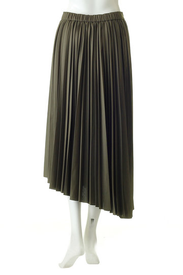 ガリャルダガランテ/GALLARDAGALANTEのイレギュラープリーツスカート(カーキ/71258957)