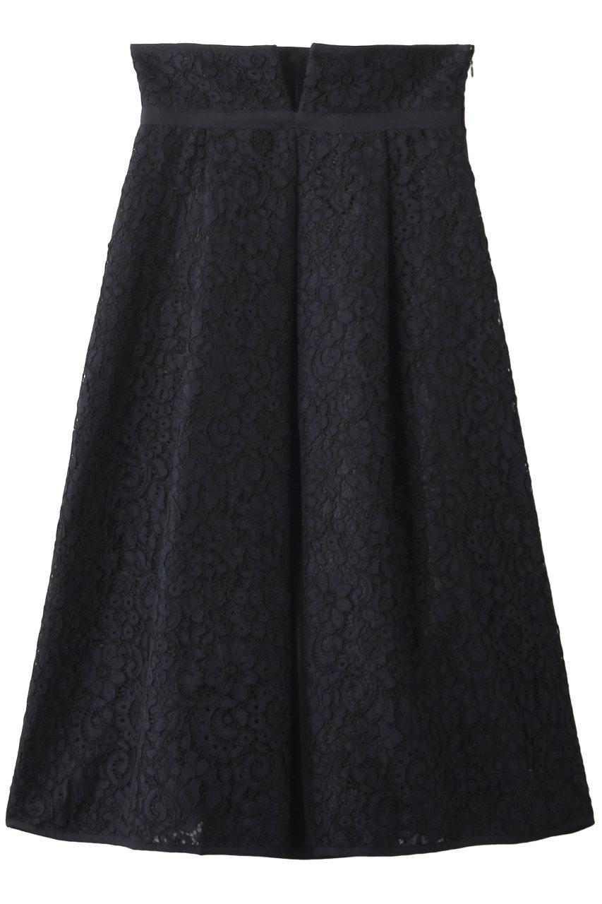 アドーア/ADOREのボールドコードレーススカート(ネイビー/531-0120235)