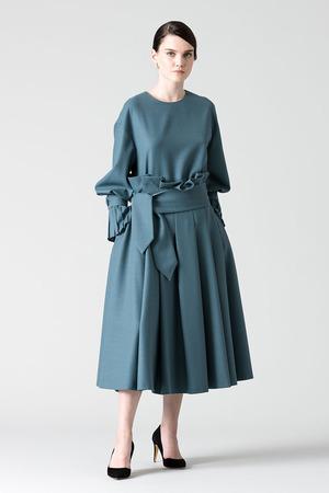 【予約販売】ウールアムンゼンスカート アドーア/ADORE