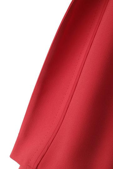 アドーア/ADOREのマットジョーゼットジャケット(レッド/531-9150400)