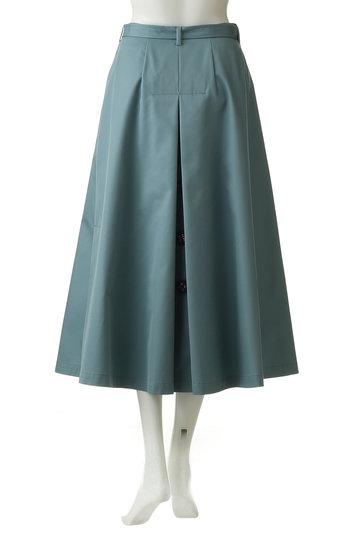 エンフォルド/ENFOLDのシャンブレーギャバ トレンチロングスカート(ダークネイビー/300CS231-0500)