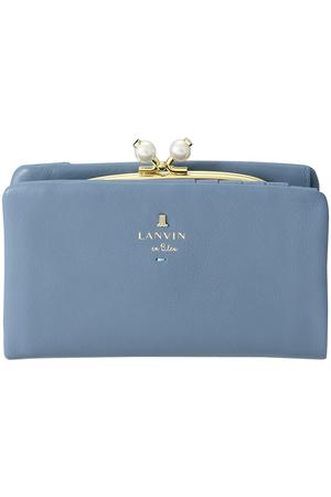 シャペル 2つ折り口金財布 ランバン オン ブルー/LANVIN en Bleu