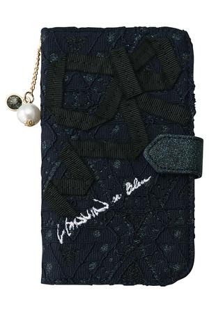 レースiPhone7ケース ランバン オン ブルー/LANVIN en Bleu