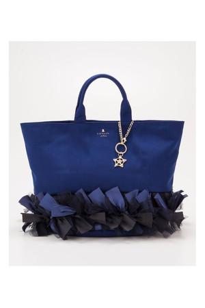 【予約販売】MIDサイズ レピック チュールトートバッグ ランバン オン ブルー/LANVIN en Bleu