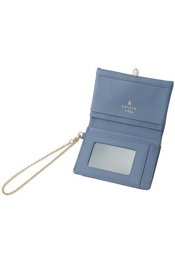 ランバン オン ブルー/LANVIN en Bleuのシャペルパスケース(ピンク/3799018)