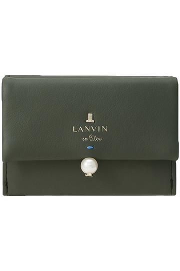 ランバン オン ブルー/LANVIN en Bleuのシャペル 三ツ折サイフ(ブラック/3899028)