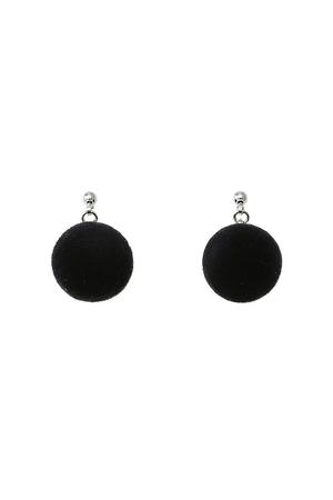フロッキーコットンパールピアス プティローブノアー/petite robe noire