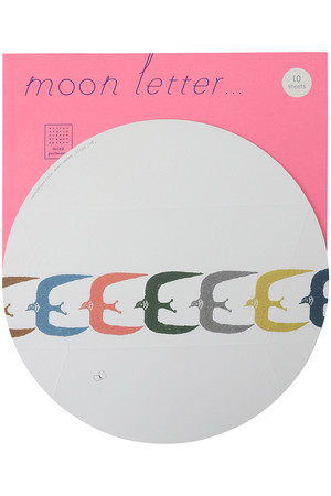 moon letter...レターセット