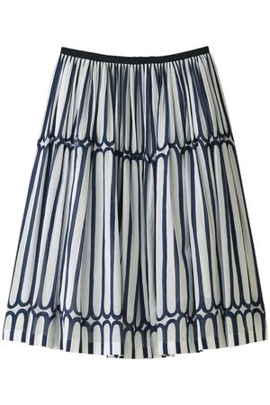 finger stripeスカート