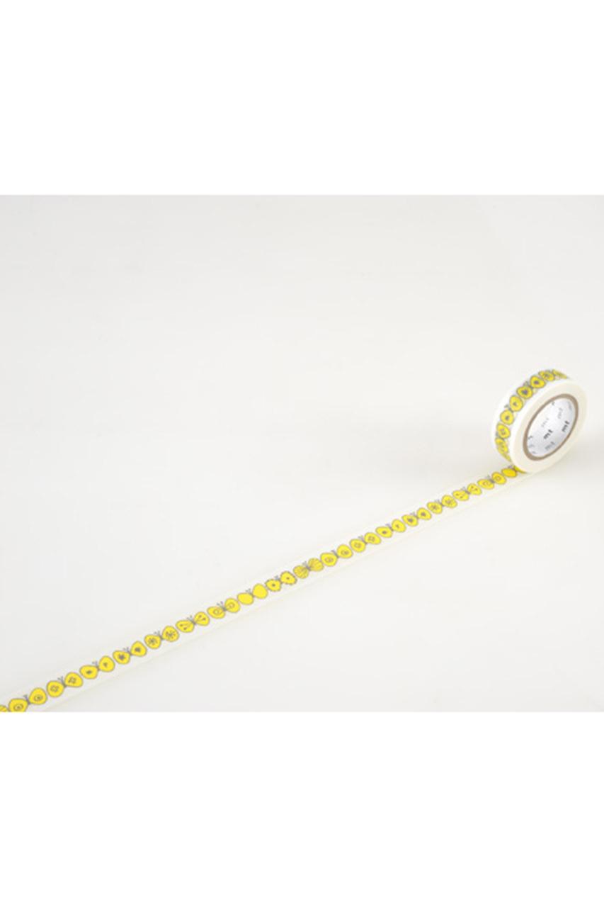 ミナ ペルホネン/mina perhonenの【mt】×mina perhonen マスキングテープ(15mm)(choucho-yellow/MTMINA26)