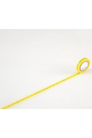 mina perhonen ミナ ペルホネン 【mt】xmina perhonen マスキングテープ(9mm) shiritori-yellow