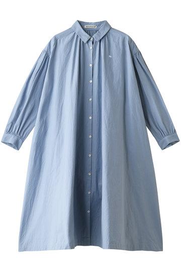 ミナ ペルホネン/mina perhonenのpilvi ワンピース(ブルー/XS3596)
