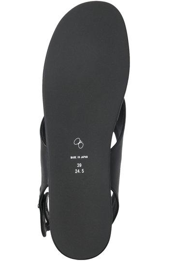 ミナ ペルホネン/mina perhonenのala トングサンダル(ブラック/XS7915)