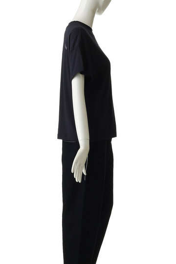 ミナ ペルホネン/mina perhonenのchoucho Tシャツ(ネイビー/XS8294)