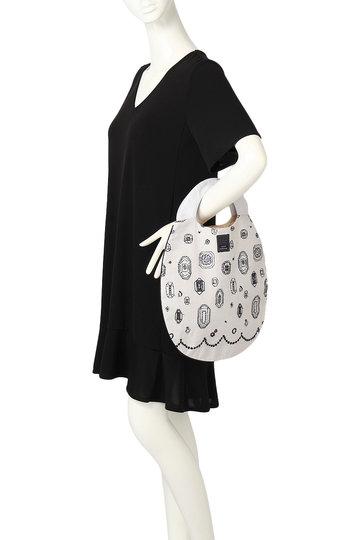 ミナ ペルホネン/mina perhonenの【予約販売】gemma エッグバッグ(ライトグレー/XS9450)