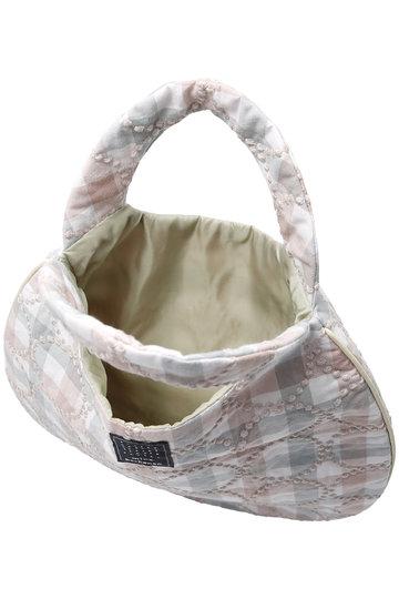ミナ ペルホネン/mina perhonenの【予約販売】tambourine エッグバッグ(ピンクミックス/XS9454)