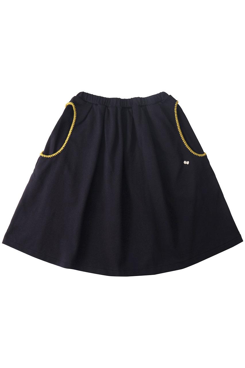 ミナ ペルホネン/mina perhonenの【Kids】sortir スカート(ネイビー/XA8996P)