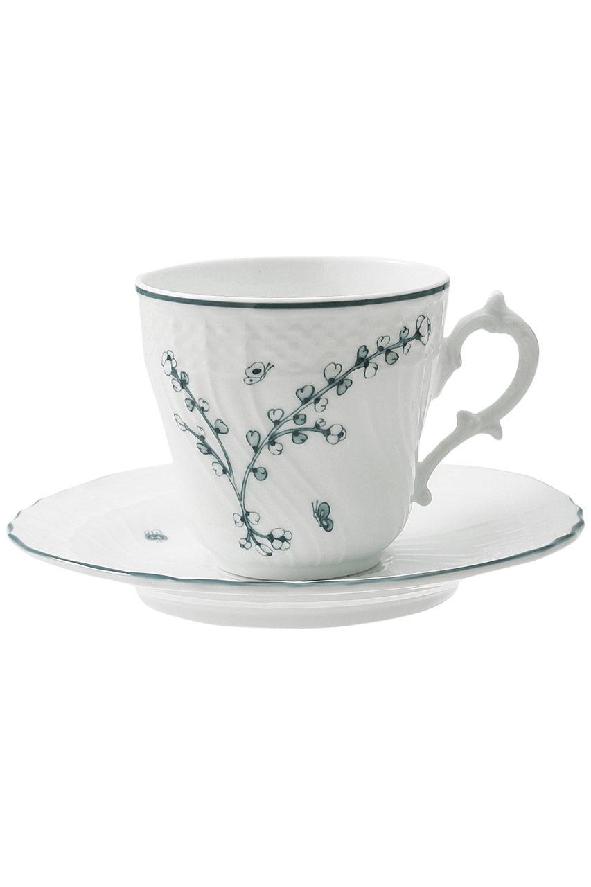 ミナ ペルホネン/mina perhonenの【Richard Ginori】コーヒーカップ&ソーサー L200cc(フロレンティア/ME10210)