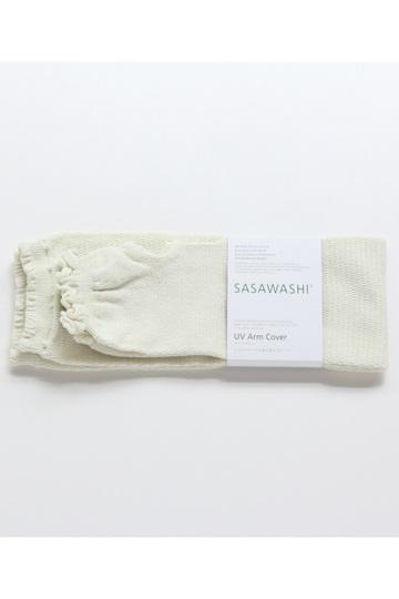 センプレ/SEMPREの【sasawashi】アームカバー(オフホワイト/4571414354714)