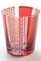 帯菊繋 切り子グラス センプレ/SEMPRE レッド