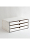 【SEMPRE】3段ボックス横型 センプレ/SEMPRE ホワイト