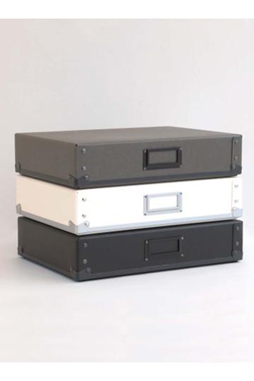 センプレ/SEMPREの【SEMPRE】3段ボックス横型(ホワイト/222065)
