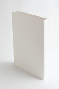 <ELLE SHOP>【SEMPRE】A4バインダーW25 ホワイト