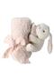 【Baby】ぬいぐるみ付きブランケット ベアフット ドリームズ/BAREFOOT DREAMS ピンク