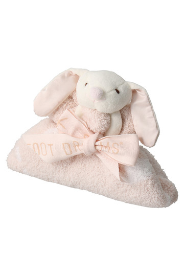 BAREFOOT DREAMS ベアフットドリームズ 【Baby】コージーシックドリームバディ(38x43cm) ピンク