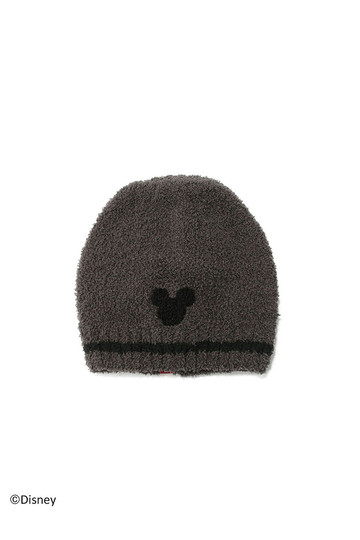 [BAREFOOT DREAMS ベアフットドリームズ] 【Kids】D107 Classic Kids Mickey Mouse Beanie dark brown