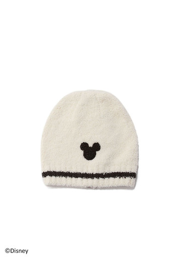 [BAREFOOT DREAMS ベアフットドリームズ] 【Kids】D107 Classic Kids Mickey Mouse Beanie cream