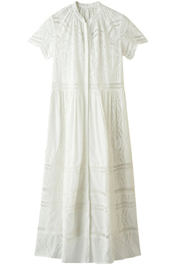 REKISAMI レキサミ 【予約販売】カットワークレースドレス ホワイト