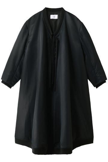 REKISAMI レキサミ ブルゾンデザインワンピース ブラック