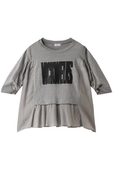 REKISAMI レキサミ 【予約販売】ロゴフレアTシャツ グレー