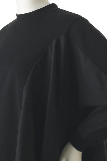 レキサミ/REKISAMIのフレアスリーブブラウス(ブラック/RT-19207)